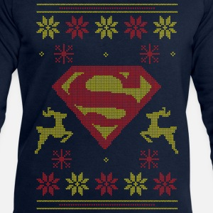 Justice League Superman Logo Ugly Christmas