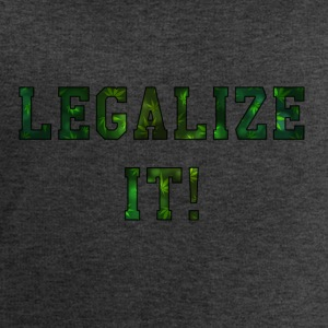 Legalize It - Sweat-shirt bio Stanley & Stella Homme