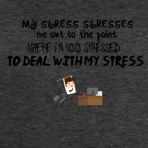 My stressstresses me out - Men's Organic Sweatshirt by Stanley & Stella