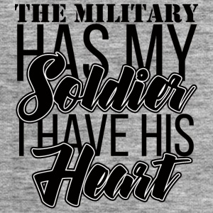 Military / Soldiers: The Military Has My Soldier, I - Men's Sweatshirt by Stanley & Stella