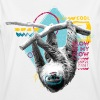 Animal Planet Sloth Slow Is My Flow Quote - Women's Oversize T-Shirt