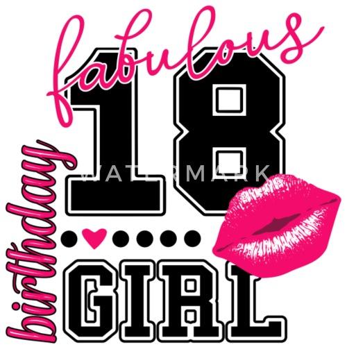 18 Geburtstag Geschenke Fur Frauen Madchen Girls Frauen Oversize T