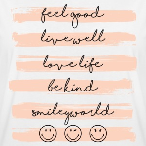 Smiley World Feel Good Lebensmotto Spruch