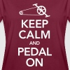 Cyclist | Keep Calm And Pedal On - Women's Oversize T-Shirt