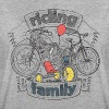 riding family - Frauen Oversize T-Shirt