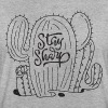 Stay Sharp | Cool Cactus Illustration Design - Women's Oversize T-Shirt