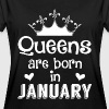 January - Queen - Birthday - 1 - Camiseta holgada de mujer