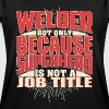 Welder Superhero - Women's Oversize T-Shirt