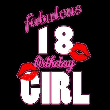 Nieuw fabelachtige 18 feestvarken 18e verjaardag roze Kiss Vrouwen HV-66