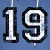 Number 19 number nineteen 19th birthday nineteenth - Light Unisex Sweatshirt Hoodie