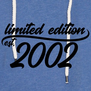 Limited Edition est 2002 - Light Unisex Sweatshirt Hoodie