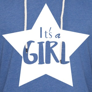 It's a Girl - Leichtes Kapuzensweatshirt Unisex