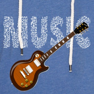 Musician Guitarist Guitar Sheet Music Music Electric Guitar - Light Unisex Sweatshirt Hoodie