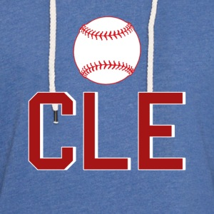Cleveland Baseball Throwback CLE - Lichte hoodie unisex