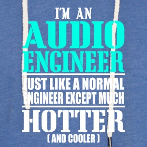 AUDIO ENGINEER - Light Unisex Sweatshirt Hoodie