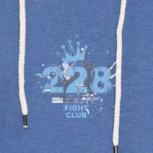 Fight Club 228 - Lett unisex hette-sweatshirt