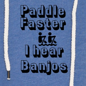 I hear Banjos - Light Unisex Sweatshirt Hoodie