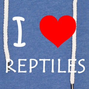 I Love Reptiles - Light Unisex Sweatshirt Hoodie