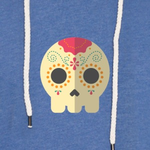 Skull of Mexico - Light Unisex Sweatshirt Hoodie