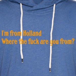 Holland - Light Unisex Sweatshirt Hoodie