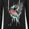 Winter bird - Let sweatshirt med hætte, unisex