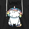 What? - Let sweatshirt med hætte, unisex