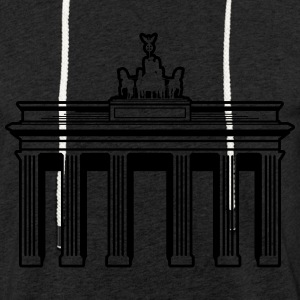 Brandenburg Gate - Light Unisex Sweatshirt Hoodie