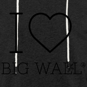 I love Big Wall - Light Unisex Sweatshirt Hoodie
