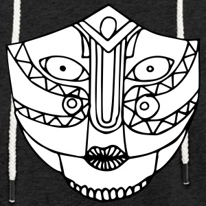 The look of the mask - Light Unisex Sweatshirt Hoodie