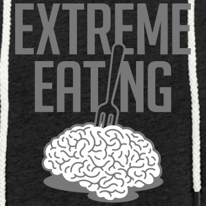 Extreme Eating - Sweat-shirt à capuche léger unisexe