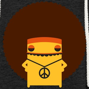 A Hippie With An Afro - Light Unisex Sweatshirt Hoodie