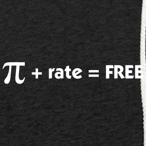 Pi Rate = Gratuit - Sweat-shirt à capuche léger unisexe