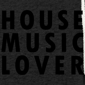 House Music Lover - Kevyt unisex-huppari