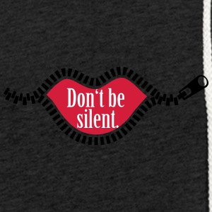 Do not be silent. - Light Unisex Sweatshirt Hoodie