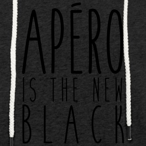 Aperitif is the new black - Light Unisex Sweatshirt Hoodie