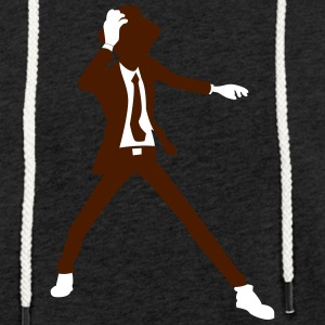 A Disco Dancer In Suit With Hat - Light Unisex Sweatshirt Hoodie