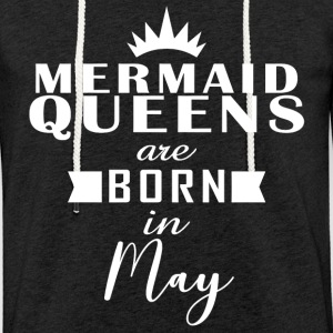 Mermaid Queens May - Lätt luvtröja unisex