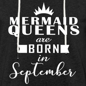 Mermaid Queens September - Lätt luvtröja unisex