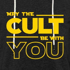 MAY THE CULT BE WITH YOU - Light Unisex Sweatshirt Hoodie