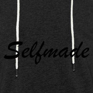 self Made - Sweat-shirt à capuche léger unisexe