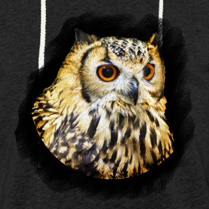 Owl Portrait - Light Unisex Sweatshirt Hoodie