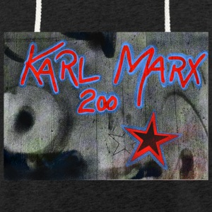 marx grafitti - Sweat-shirt à capuche léger unisexe