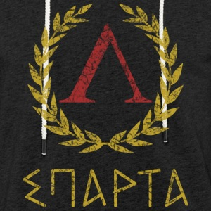 SPARTA IN GREEK - Lätt luvtröja unisex