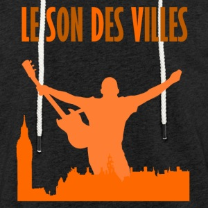 Le Son Des Villes _ The City is Mine - Sweat-shirt à capuche léger unisexe