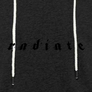 Radiate Limited Edition - Light Unisex Sweatshirt Hoodie