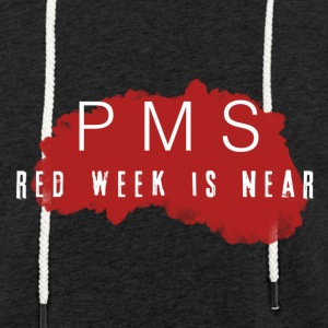 PMS Collection - Let sweatshirt med hætte, unisex