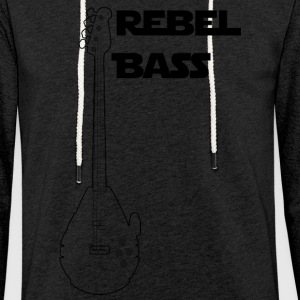 Rebel basse - Sweat-shirt à capuche léger unisexe