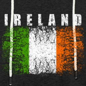 Ireland Flag 008 AllroundDesigns - Light Unisex Sweatshirt Hoodie