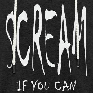 Scream - If You Can - Leichtes Kapuzensweatshirt Unisex