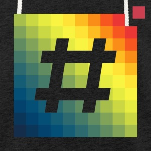 pixel t-shirt # - Light Unisex Sweatshirt Hoodie